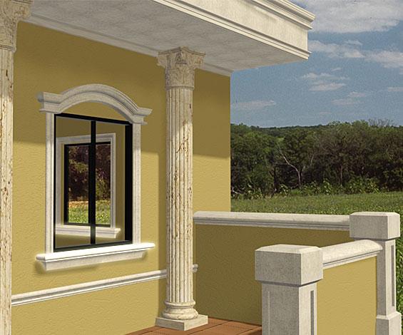 Artestereofon galeria de molduras - Molduras para ventanas exteriores casas ...